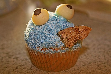 Krümelmonster-Muffins 140