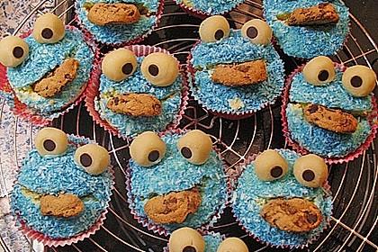 Krümelmonster-Muffins 348