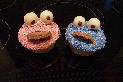 Krümelmonster-Muffins 181