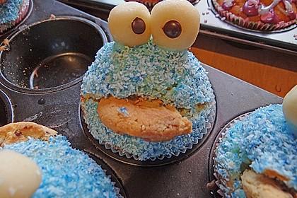Krümelmonster-Muffins 397