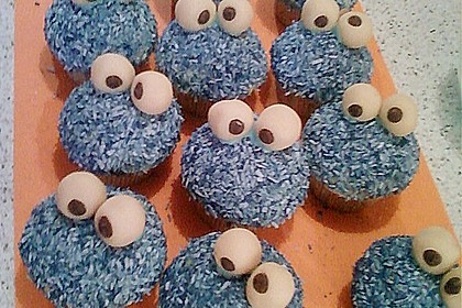 Krümelmonster-Muffins 404