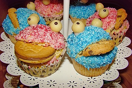 Krümelmonster-Muffins 197