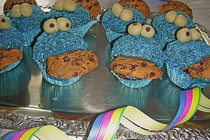 Krümelmonster-Muffins 289