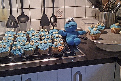Krümelmonster-Muffins 288