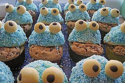 Krümelmonster-Muffins 287