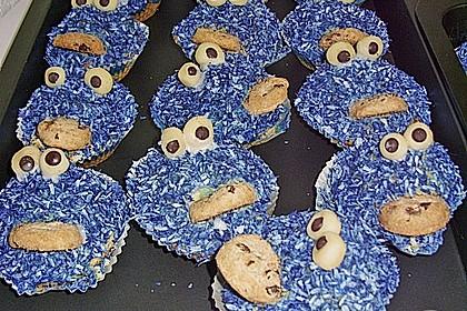 Krümelmonster-Muffins 379