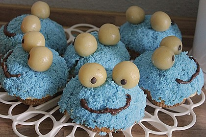 Krümelmonster-Muffins 220