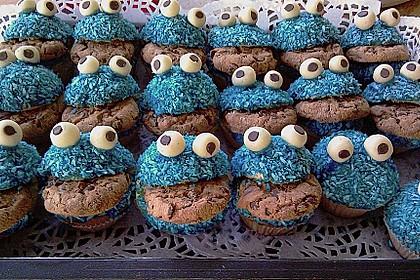 Krümelmonster-Muffins 355
