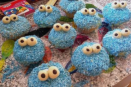 Krümelmonster-Muffins 173
