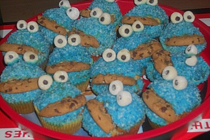 Krümelmonster-Muffins 427
