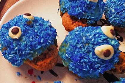 Krümelmonster-Muffins 425