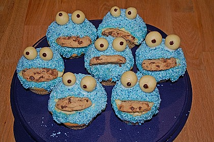 Krümelmonster-Muffins 297