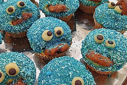 Krümelmonster-Muffins 166