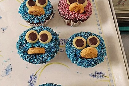 Krümelmonster-Muffins 376