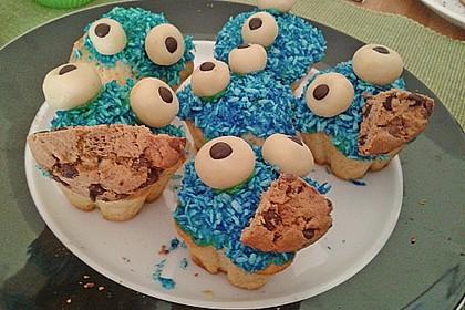 Krümelmonster-Muffins 444