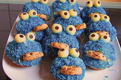 Krümelmonster-Muffins 40