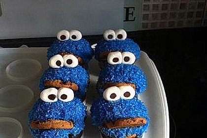 Krümelmonster-Muffins 234