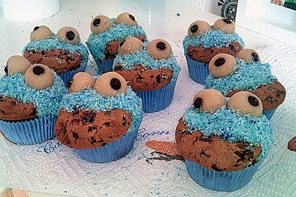 Krümelmonster-Muffins 325