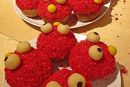 Krümelmonster-Muffins 334