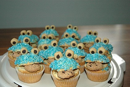 Krümelmonster-Muffins 112
