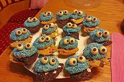 Krümelmonster-Muffins 386