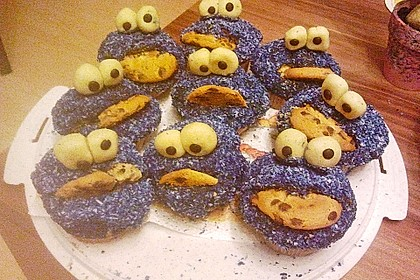 Krümelmonster-Muffins 442