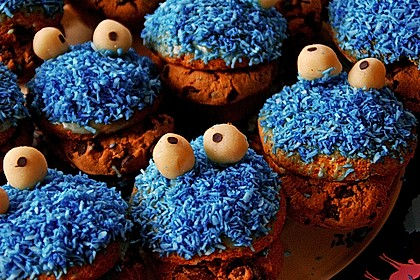 Krümelmonster-Muffins 201
