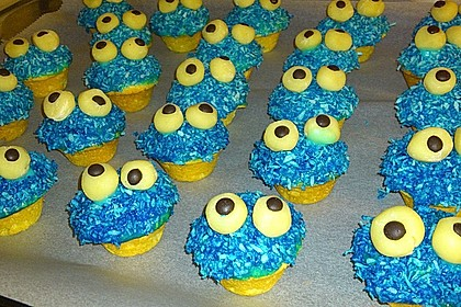 Krümelmonster-Muffins 402