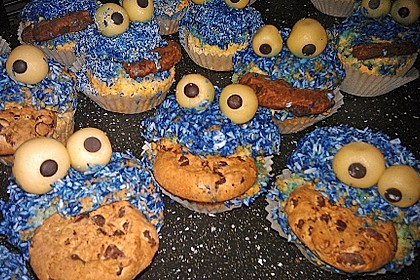 Krümelmonster-Muffins 193