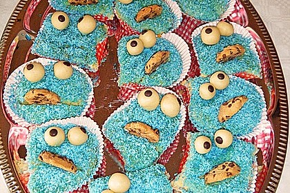 Krümelmonster-Muffins 200
