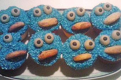 Krümelmonster-Muffins 388