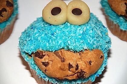 Krümelmonster-Muffins 48