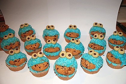 Krümelmonster-Muffins 26
