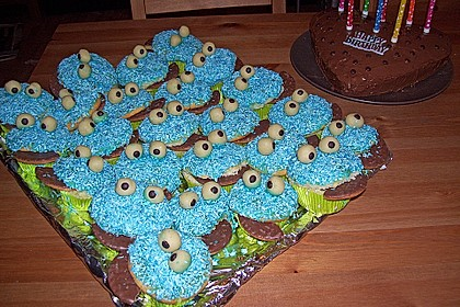 Krümelmonster-Muffins 138