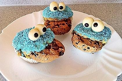 Krümelmonster-Muffins 286