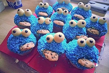 Krümelmonster-Muffins 33