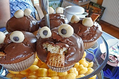 Krümelmonster-Muffins 337
