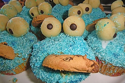 Krümelmonster-Muffins 131