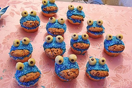 Krümelmonster-Muffins 264