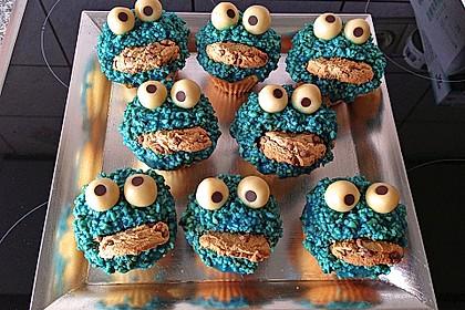Krümelmonster-Muffins 46