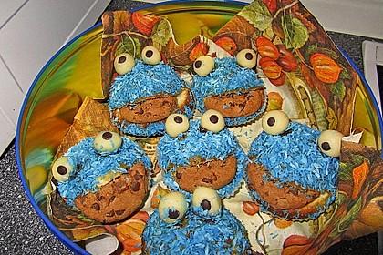 Krümelmonster-Muffins 263