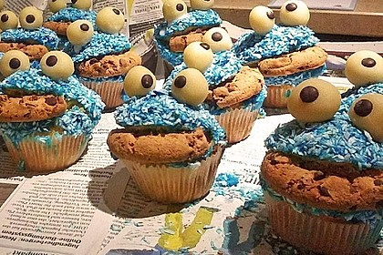 Krümelmonster-Muffins 284
