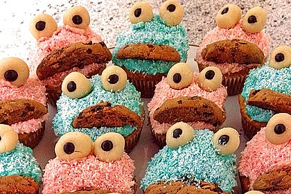 Krümelmonster-Muffins 270