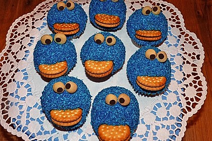 Krümelmonster-Muffins 1