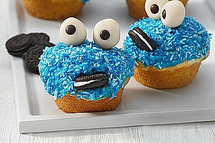 Krümelmonster-Muffins 3