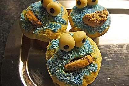 Krümelmonster-Muffins 97