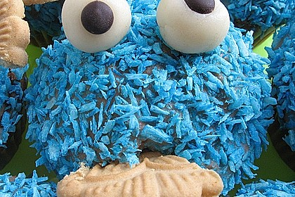 Krümelmonster-Muffins 106