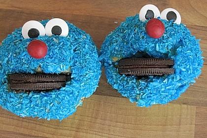 Krümelmonster-Muffins 7