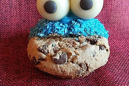 Krümelmonster-Muffins 8