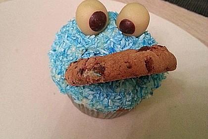 Krümelmonster-Muffins 24